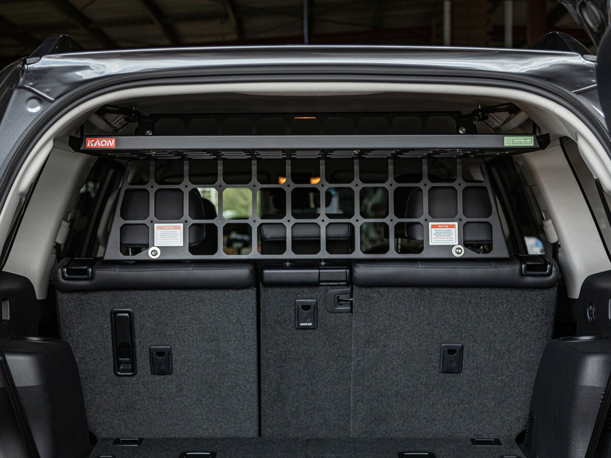 Light Cargo Pet Barrier and Luggage Shelf to suit TOYOTA Prado 150 GX 5 Seat