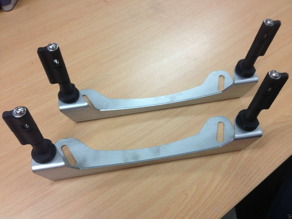 Tradesman Maxtrax mounting brackets for Rhino Platform Racks mount with PINS