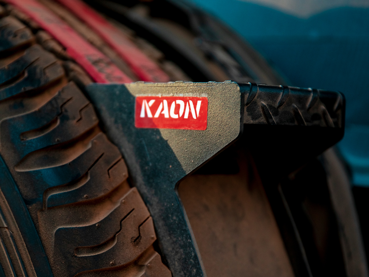 Rear Door Spare Tyre Step Ladder
