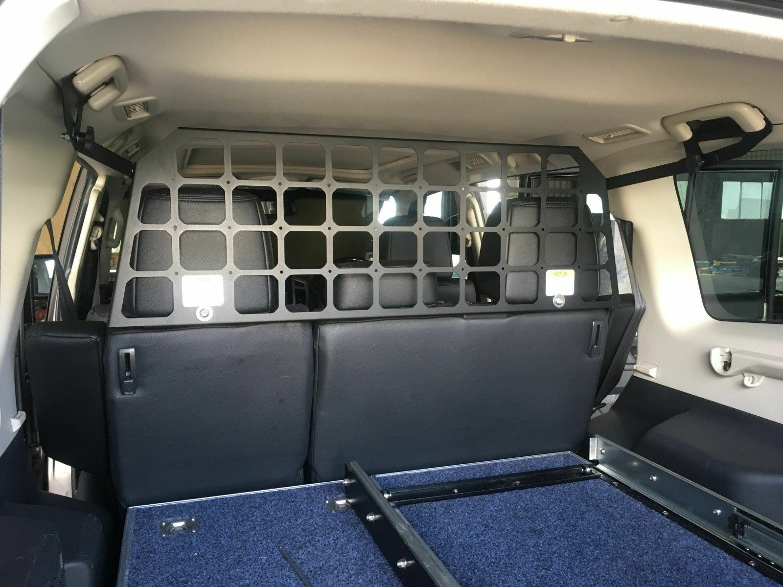 Light Cargo Pet Barrier to Suit MITSUBISHI Pajero NW/NT/NX 2008 - Current, With SUNROOF