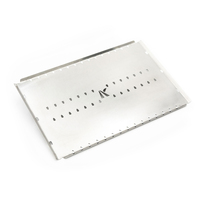 Stainless Steel Convection Tray to suit the Weber Baby Q BBQ Trivet (Small Size)