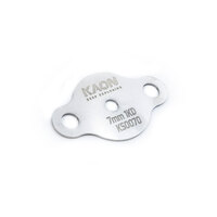 EGR Blanking Plate to suit Toyota D4D 1KD-FTV 3.0 TD Hilux Prado 7mm hole