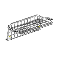 Light Cargo Pet Barrier and Luggage Shelf to suit TOYOTA LC200 Landcruiser